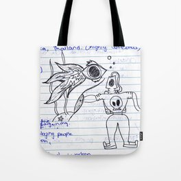 Uni-Doodle #2 Tote Bag