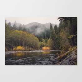 Salmon River I Canvas Print