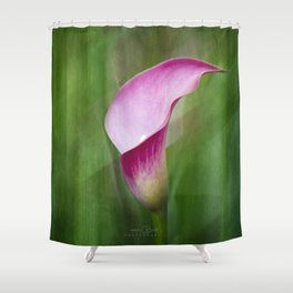 Calla Lily Flow Shower Curtain