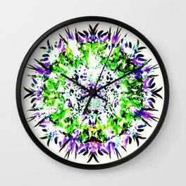 HASI Mandala Wall Clock