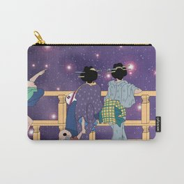 Hokusai People & Universe Carry-All Pouch