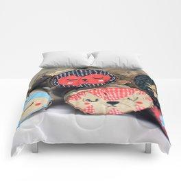 Sleeping like a log  Comforters