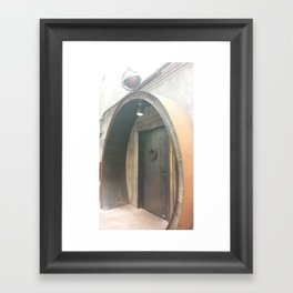 A Hobbit's Home Framed Art Print