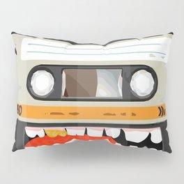 The cassette tape golden tooth Pillow Sham