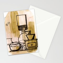 Afternoon Coffee Stationery Cards