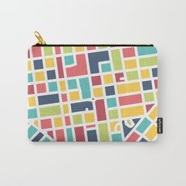 Lancaster, PA Block Map Carry-All Pouch