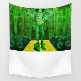 The Guardian of the Gates to The Emerald City Wall Tapestry