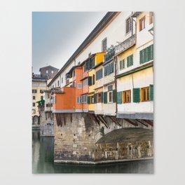 Ponte Vecchio Firenze Florence Tuscany Italy Canvas Print
