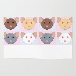 Four Rats Rug