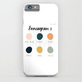 Enneagram 2 iPhone Case