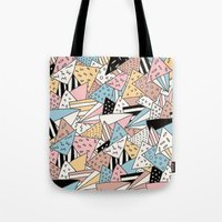 pizza Tote Bags featuring PIZZA !! by Ana Depuntillas