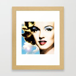all about eve Framed Art Print