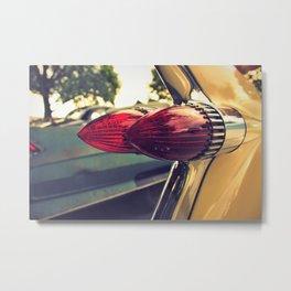 Tail Lamps Metal Print
