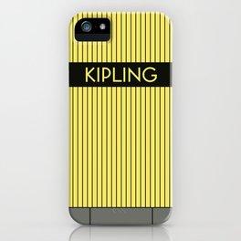 KIPLING | Subway Station iPhone Case