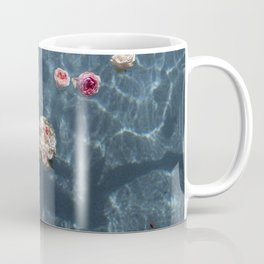 Bouquet and Bride Floating Coffee Mug