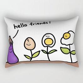 Eggplants Rectangular Pillow