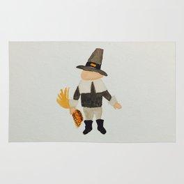 Thanksgiving Pilgrim Puritan Baby Boy Toddler Rug