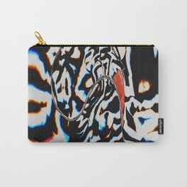 Tripping Zebra Carry-All Pouch