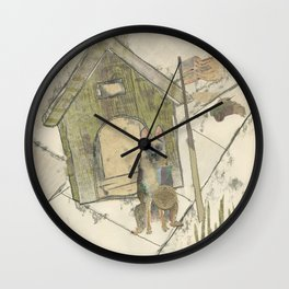 Basic Training Wall Clock