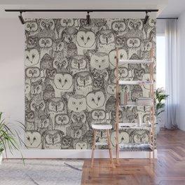 just owls natural Wall Mural