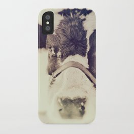 The Cow iPhone Case