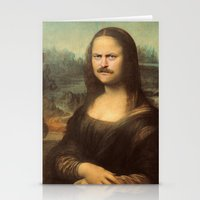 swanson Stationery Cards featuring Mona Swanson by RAOqwerty