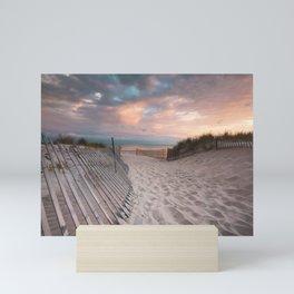 Second Beach Mini Art Print