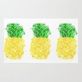 Pineapple Graffiti Rug