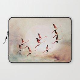 Flock of Flamingos Laptop Sleeve