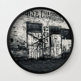 BOIS & CHARBONS Wall Clock