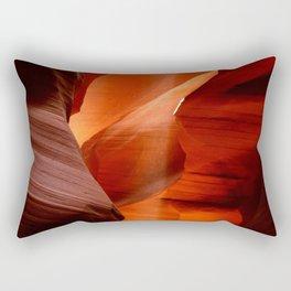 Marvelous Antelope Canyon Colors Rectangular Pillow
