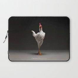 Chic!ken - Modern English Game Fowl Laptop Sleeve