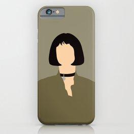 Mathilda Léon The Profesional 90s movie  iPhone Case