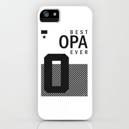 Best Opa Ever iPhone Case