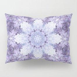 Inverse Fern Light Mandala Pillow Sham