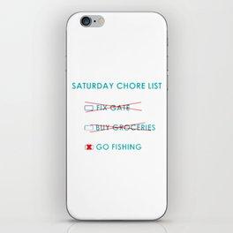 Chore List iPhone Skin