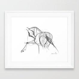 Horse (Ballet dancer) Framed Art Print