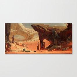 Deep Desert Canvas Print