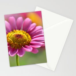 Pink summer flower 012 Stationery Cards