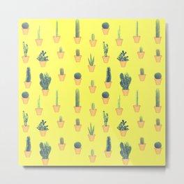 cacti patten Metal Print
