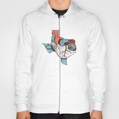 The Heart of Texas (Red, White and Blue) Hoody