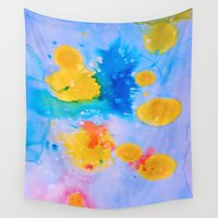 science Wall Tapestries featuring Science Experiment by DuckyB