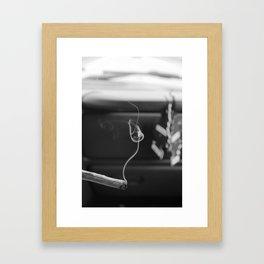 no FLASHY shit Framed Art Print