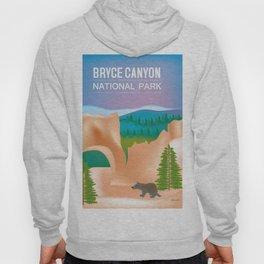 Bryce Canyon National Park, Utah - Skyline Illustration by Loose Petals Hoody