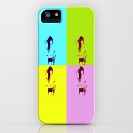 Synth-Pop Art iPhone Case