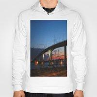 bridge Hoodies featuring Bridge by Alyssa Gioia