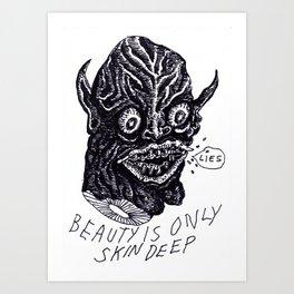 Beauty Skin Art Print