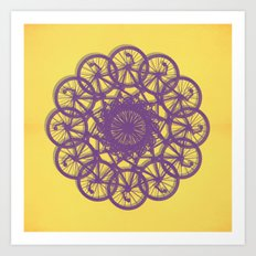Cycle Circle Art Print
