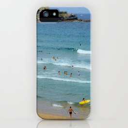 Surfs Up, Bondi iPhone Case
