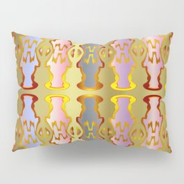 Pattern by different pairs Pillow Sham